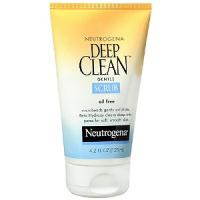 Deep Clean Gentle Scrub, Oil Free