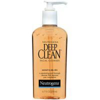 Deep Clean Facial Cleanser, For Normal to Oily Skin