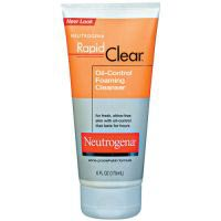 Rapid Clear Oil Eliminating Foaming Cleanser