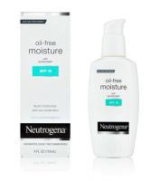 Oil-Free Moisture with Sunscreen SPF 15