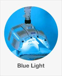 different colors of light therapy for acne